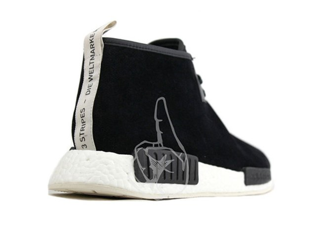 adidas NMD Mid Black Suede