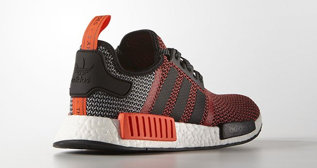 adidas NMD Red Orange Black