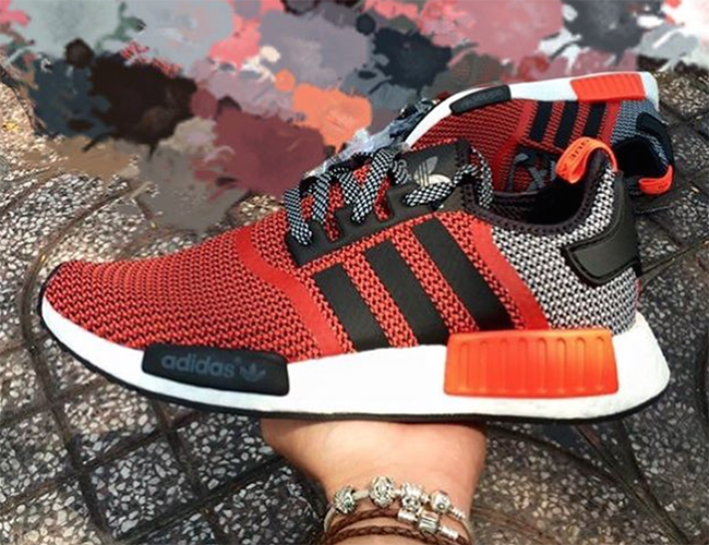 the latest ceda8 1067b adidas NMD Red Orange Black | SneakerFiles