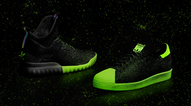 adidas Primeknit Glow in the Dark All Star