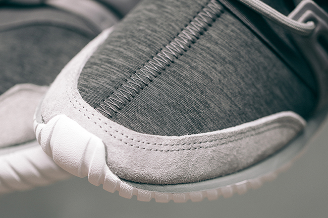 adidas Tubular Radial Fleece Grey