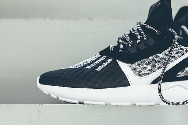 adidas Tubular Runner Wool Black White