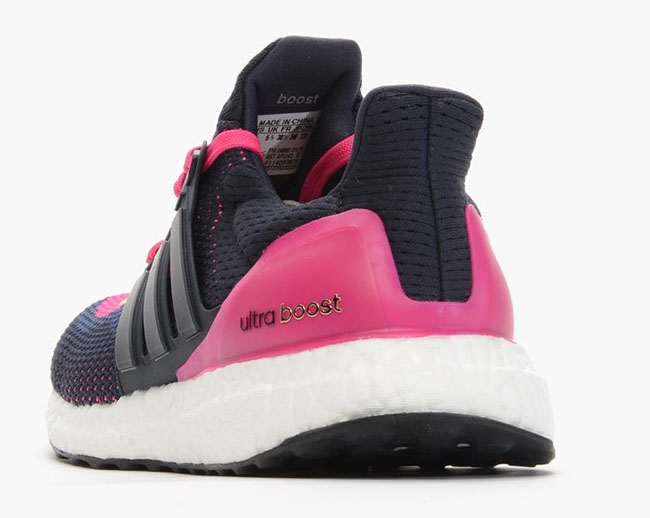 adidas Ultra Boost Night Navy Pink