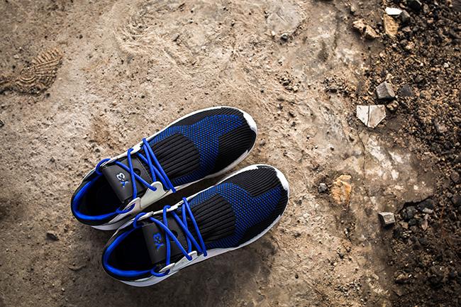1049f6352376d adidas Y-3 Boost QR Knit Run Electric Blue
