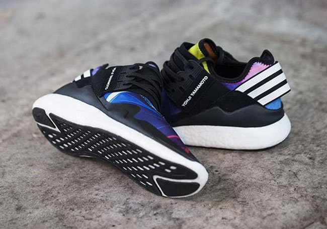 adidas y 3 retro boost multicolor sneakerfiles. Black Bedroom Furniture Sets. Home Design Ideas