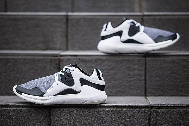 adidas Y-3 Run Trainer Black White