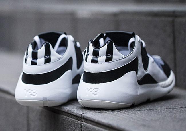 adidas Y-3 Run Trainer Black White