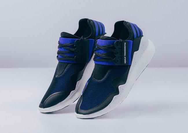 adidas Y-3 Boost Electric Blue Black White