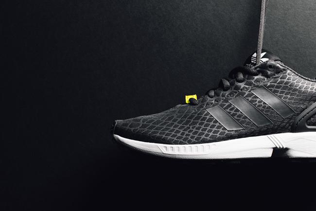 22ea7ac81fe0 adidas ZX Flux Techfit Shadow Black