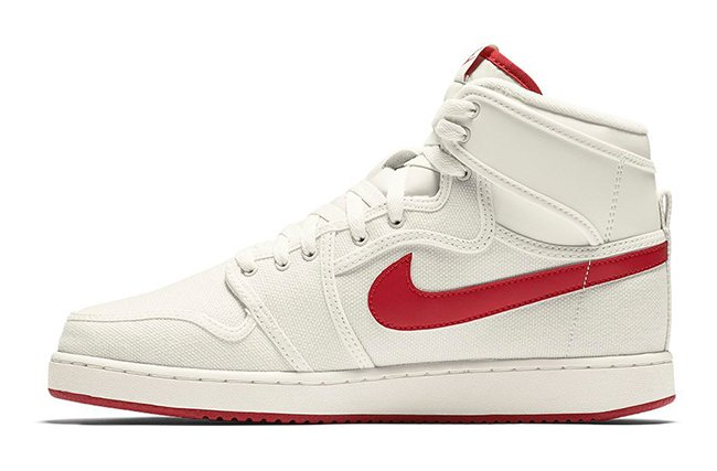 Air Jordan 1 KO High OG Timeless Canvas Sail Red