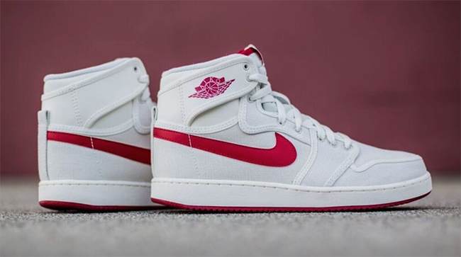 Air Jordan 1 KO OG Sail Red March 2016