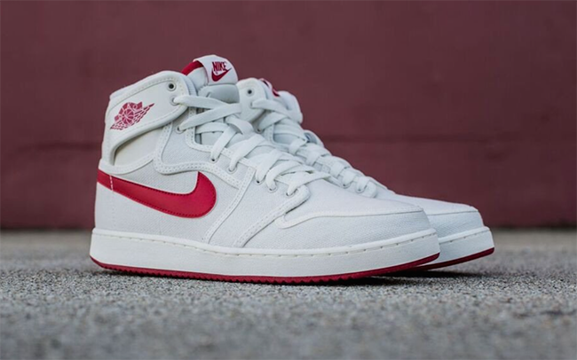 Air Jordan 1 KO OG Sail Red