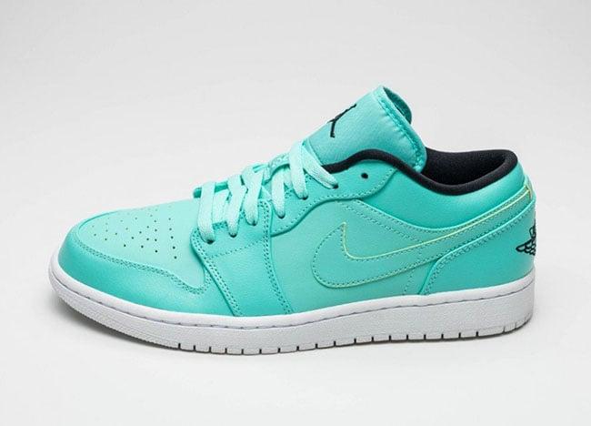 Air Jordan 1 Low 'Hyper Turquoise'
