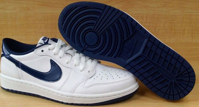 Air Jordan 1 Low OG White Navy
