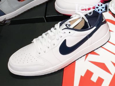 Air Jordan 1 Low White Midnight Navy