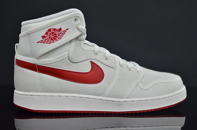 2ac30e287fee48 Air Jordan 1 KO OG Sail Red Release Date