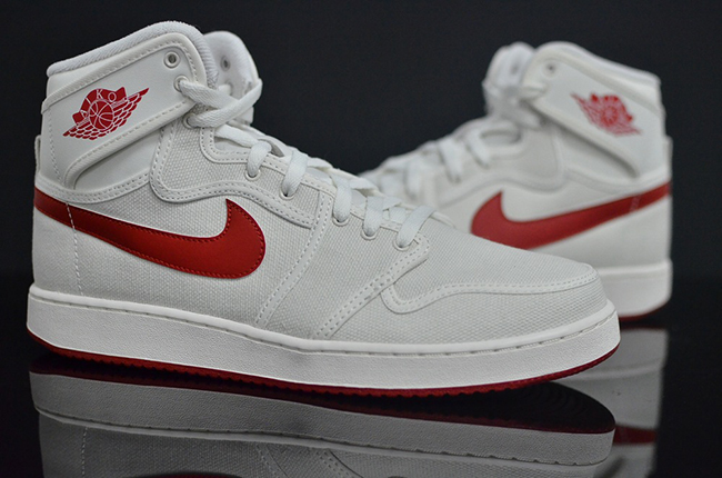 Air Jordan 1 Retro KO Sail Red