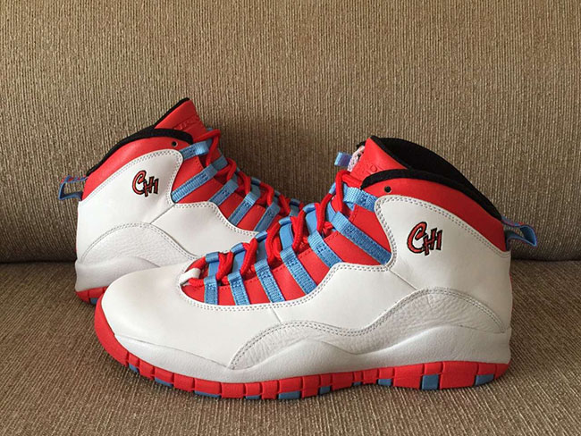 Air Jordan 10 Chicago Flag 2016