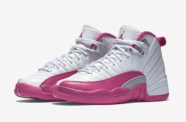 Air Jordan 12 Dynamic Pink March 2016