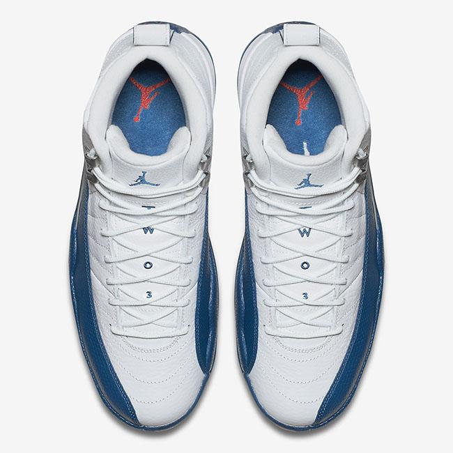 40b1ab774f0f Air Jordan 12 French Blue 2016 Retro Release
