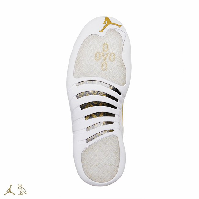 outlet store cbf48 b033b Air Jordan 12 OVO White 2016 | SneakerFiles