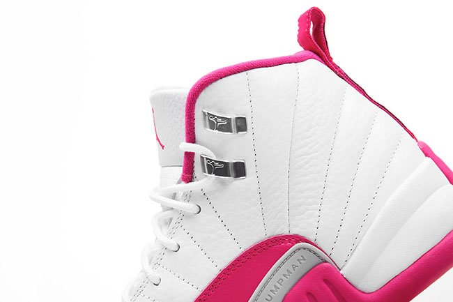 Air Jordan 12 Vivid Pink Girls