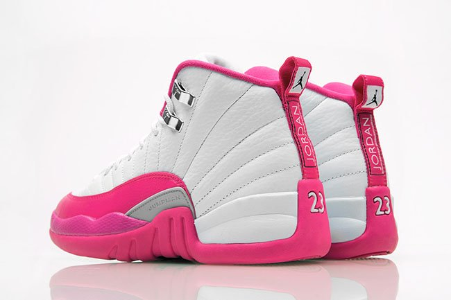 Air Jordan 12 Vivid Pink Girls