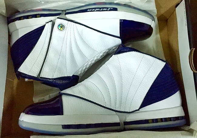 Air Jordan 16 White Navy Retro 2016