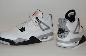 Air Jordan 4 OG White Cement Video