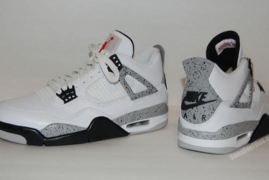 Air Jordan 4 OG White Cement Video