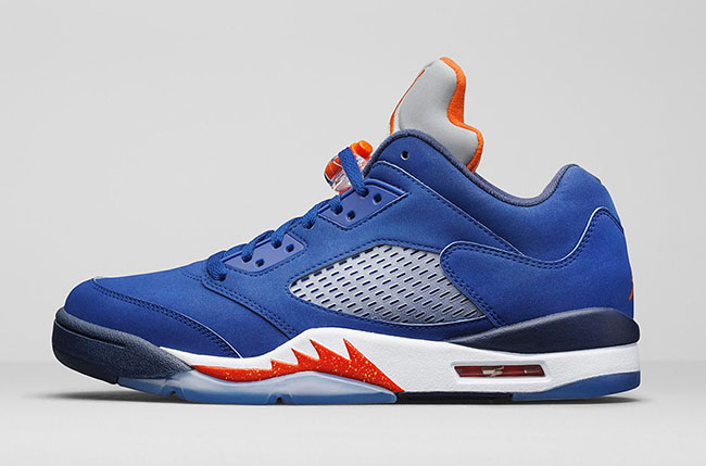 Air Jordan 5 Low Knicks Low Royal