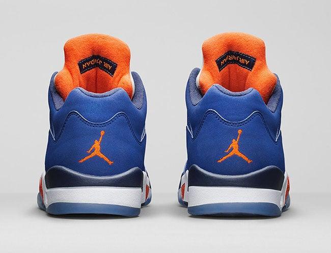 Air Jordan 5 Low Knicks Low Royal