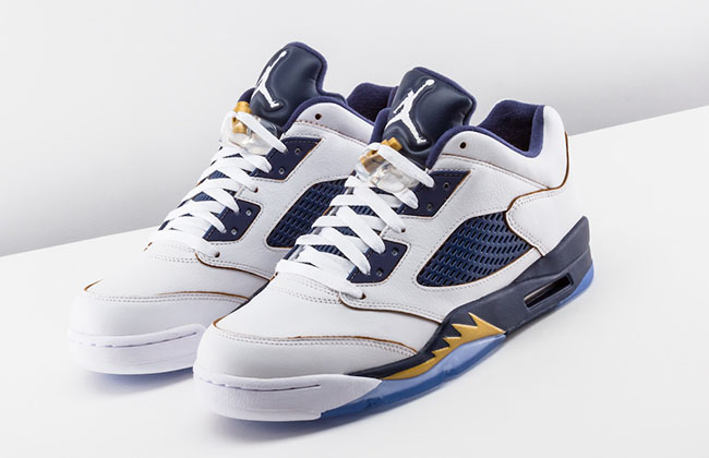 watch 08010 5e507 Air Jordan 5 Low Dunk From Above | SneakerFiles