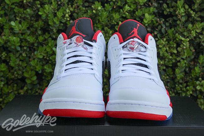Air Jordan 5 Low Fire Red Retro