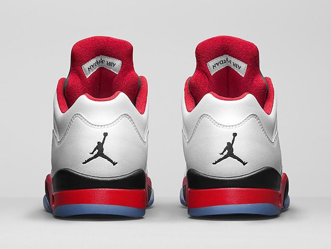 Air Jordan 5 Low Fire Red Retro Release