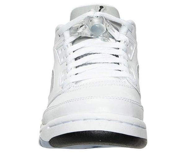 Air Jordan 5 Low GS White Wolf Grey