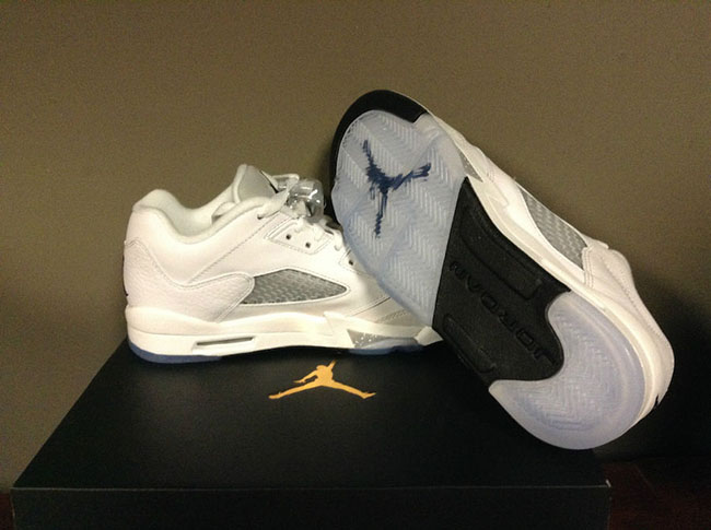 Air Jordan 5 Low White Wolf Grey Buy