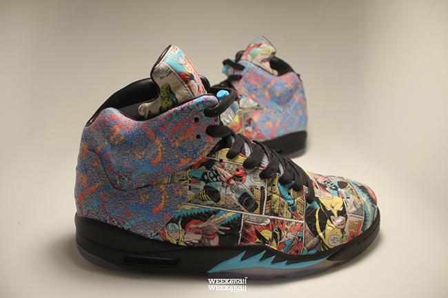 Air Jordan 5 The Avengers Custom