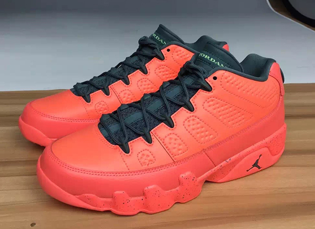 Air Jordan 9 Low Red Infrared Black