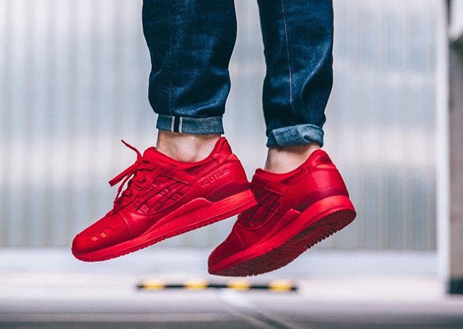 asics gel lyte iii red