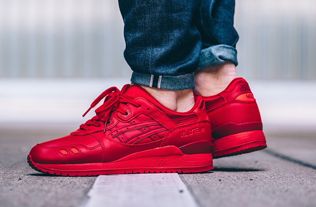 Asics Gel Lyte III III | Rouge Asics Monochrome | 3f05ad5 - madridturismobitcoin.website