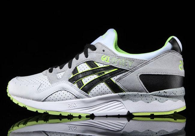 Asics Gel Lyte V Grey Neon