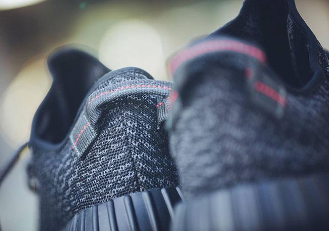 Black adidas Yeezy 350 Boost Restock