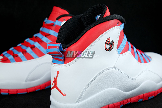 Chicago Flag Air Jordan 10