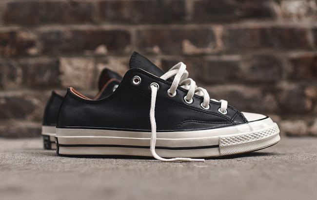 Converse Chuck Taylor OX 70 Black Leather