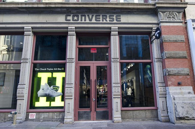 Converse SoHo New York Flagship