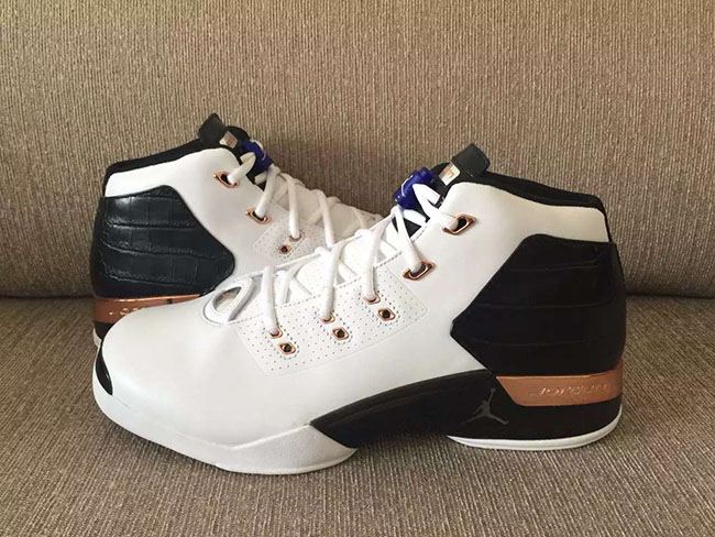 Copper Air Jordan 17 Retro 2016