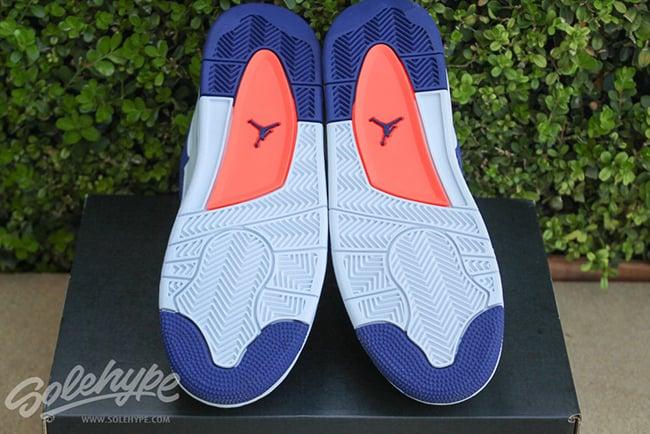 Deep Royal Blue Air Jordan 4 Girls