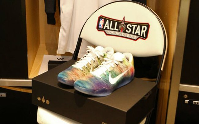 DeMar DeRozan Nike Kobe 11 All Star Northern Lights