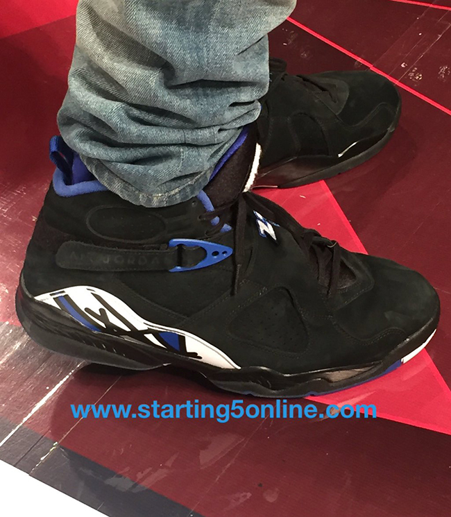 watch 559ba 105e4 Drake Air Jordan 8 OVO Kentucky Blue Black | SneakerFiles